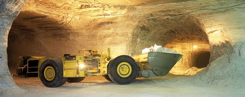 Slukkesystemer for gruve og tunneldrift