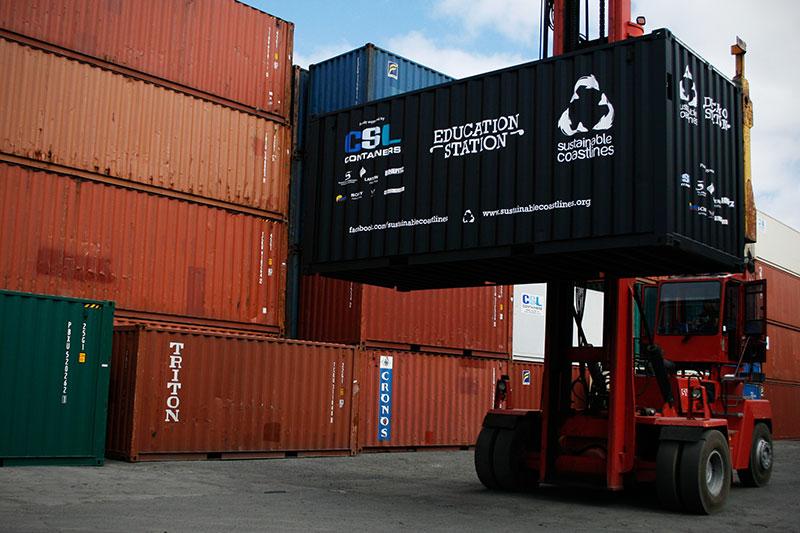 Brannsikring av maskiner innen logistikk og materialhåndtering