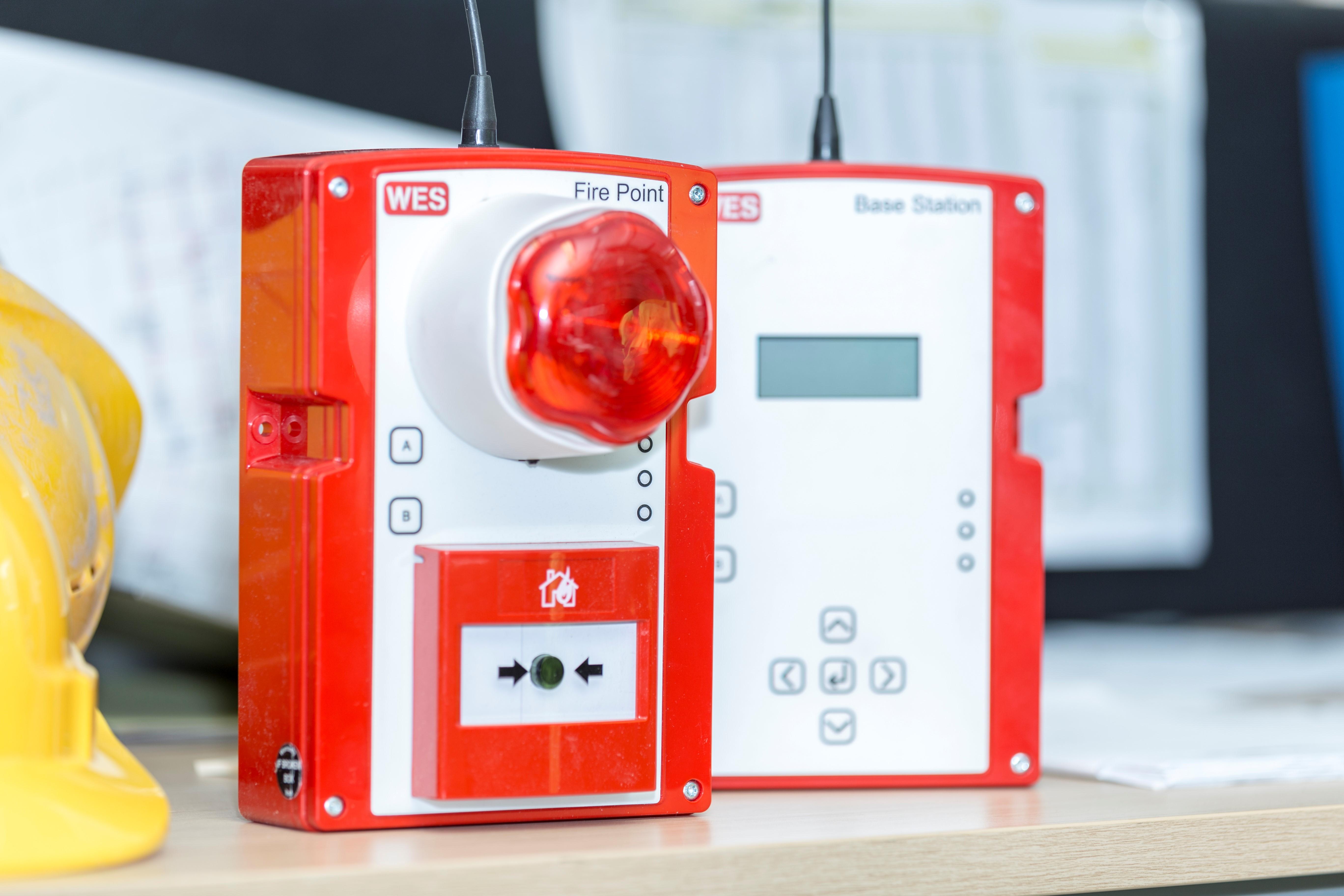 Veidekke og Prosjekt Oset tester mobilt varslingssystem for brann og evakuering fra Norgem AS