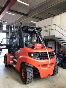 Automatisk brannslukkesystem fra Dafo Hesselberg Truck